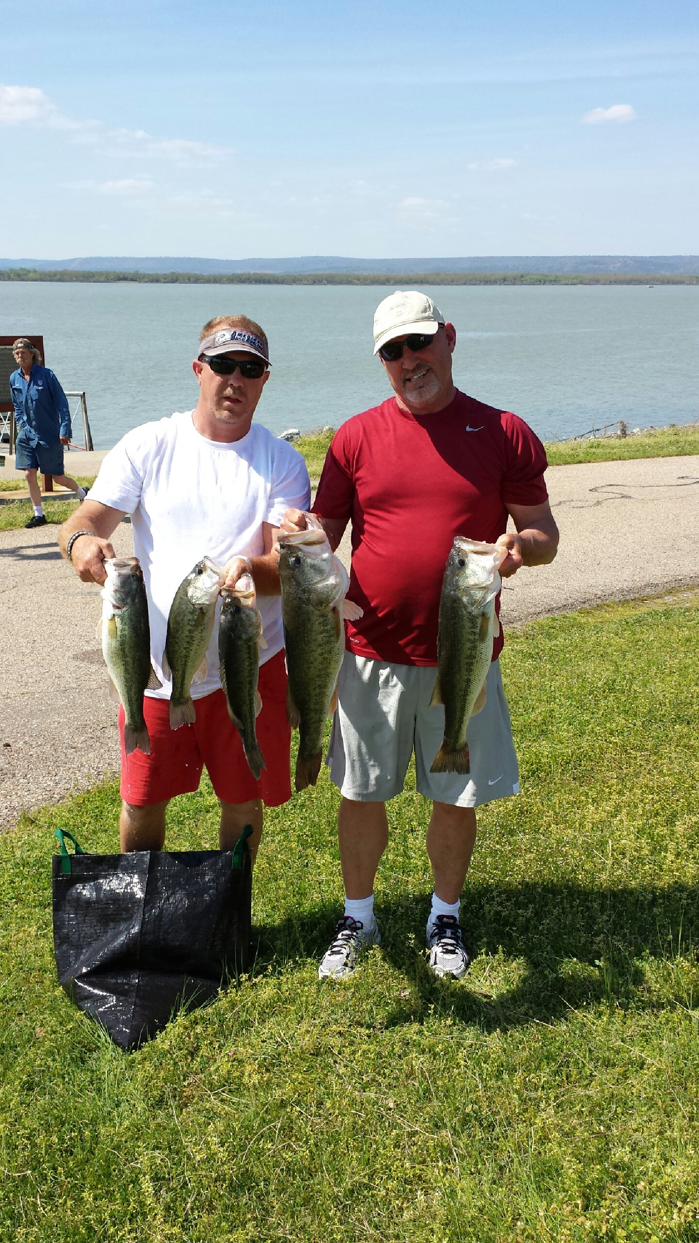 Tim ODaniel & Rodney Faulkenberry 3rd Place 23.29 & Big Bass 9.17 lbs