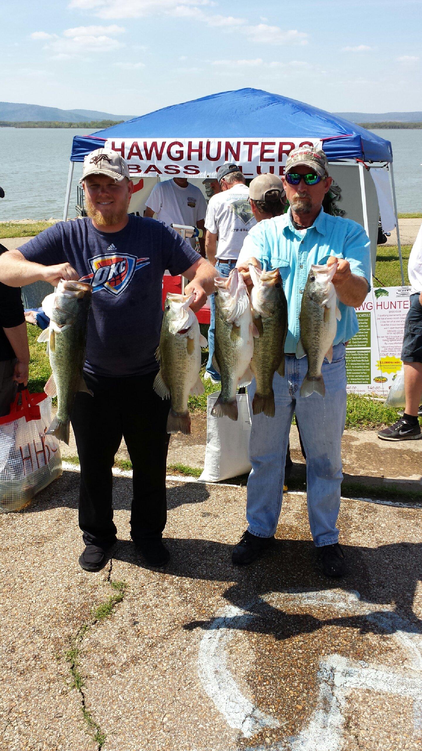 Jerry & Jeremy Mcelhaney 1st Place 27.25 lbs